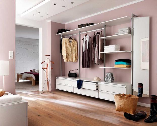 Begehbarer Kleiderschrank VENETO in 3 Varianten