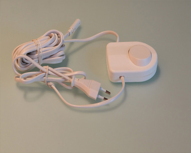 Fußschalter für LED-Beleuchtung Ankleidezimmer