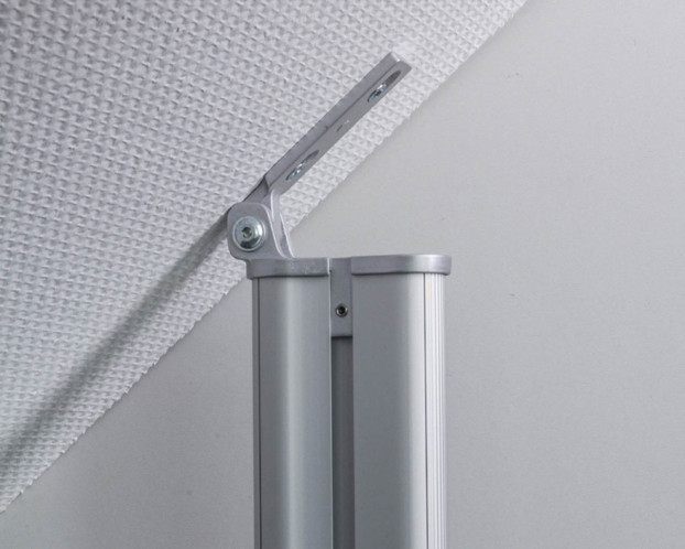 3tlg. Dachschrägen-Profil für Beleuchtung beidseitig Länge 151,0 cm