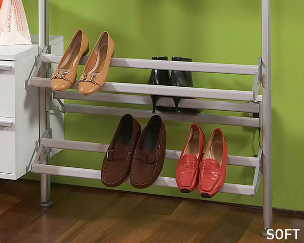 Offener Schuhträger für Schranksystem in 3 Breiten