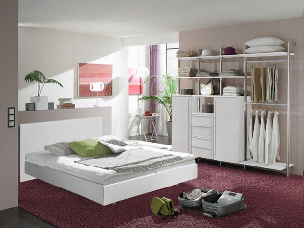 Schlafzimmer: Kleiderschrank FORMAT inkl. Designbett