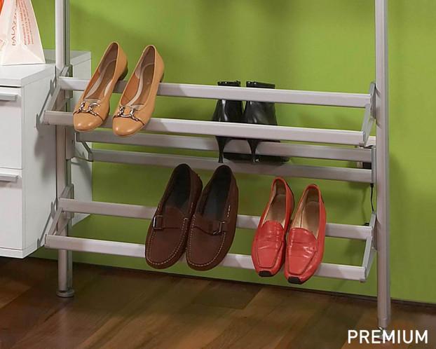 Offener Schuhträger für Ankleidezimmer