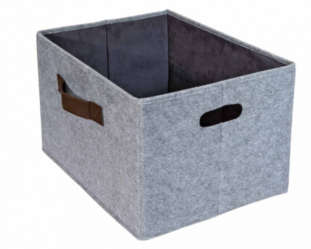 Aufbewahrungskorb Filz | Filzbox sehr stabil
