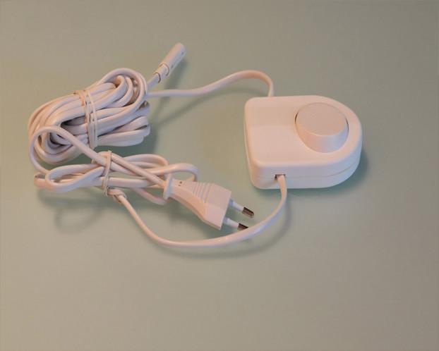 Fußschalter f. LED-Beleuchtung Schranksysteme