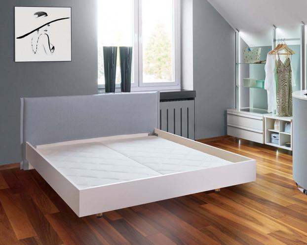 Polsterkopfteil für Design Bett Lack